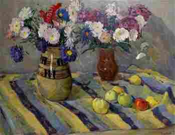 Oil painting Still life Kosyak Aleksandr Borisovich
