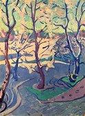 Oil painting Winter sun Glushchenko Nikolay Petrovich