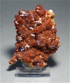 Vanadinite Crystal on matrix