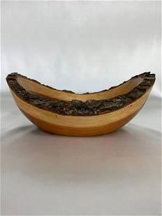 Natural Edge Dual Color Grain Bowl