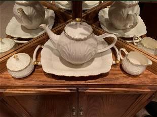 (6) pc. Lenox China Teapot Sugar Creamer Tray
