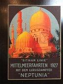 "Neptunia (1927) 19.875"" x 26.875"" German Travel"