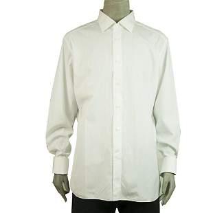 Ermenegildo Zegna Classic White Shirt Long Sleeve