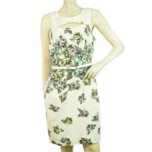 Karen Millen Floral Multicolor Sleeveless Knee Length