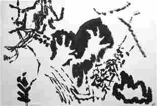 Pierre Tal-Coat lithograph, 1960