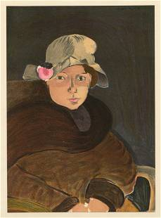 "Henri Matisse lithograph ""Marguerite Matisse"""