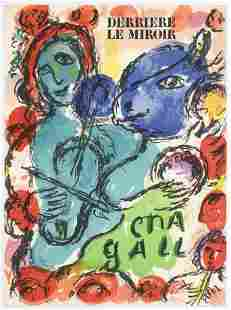 "Marc Chagall original lithograph ""Pantomime"""