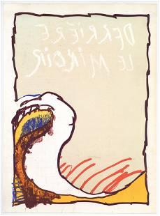 Pierre Alechinsky original lithograph, 1981