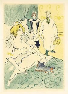 "Toulouse-Lautrec lithograph poster ""L'Artisan Moderne"""