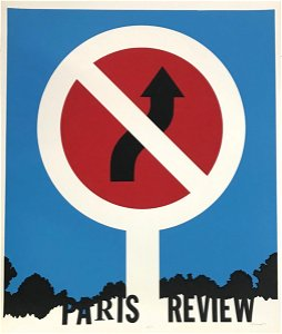 """Allan D'Arcangelo """"Paris Review"""" signed numbered"""