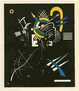 """Wassily Kandinsky lithograph """"Kleine Welten VII"""""""