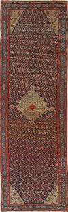 1920 Karabakh Bote Russian Oriental Hand-Knotted 5x16