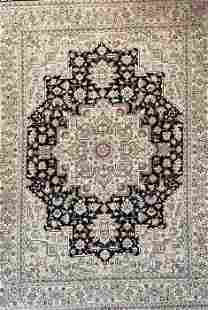 Persian Signed Tabriz / Heriz Hand Knotted Signed Rug,