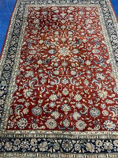 Hand Knotted Persian Tabriz 7x10 ft