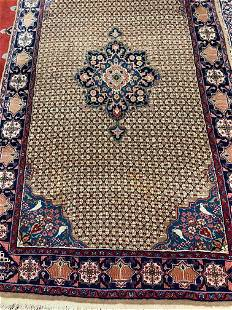 Hand Knotted Persian Sarouk 8.5x5 ft