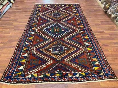 Vintage Kazak caucasian Rug-1147