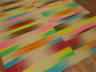 Retro Rainbow Color Kilim