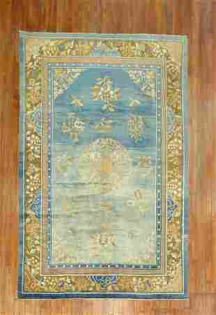 Powder Blue Chinese Rug