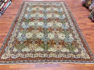 Unusual antique Turkish Kasari rug-4017