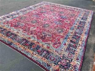 Vintage Persian large size Yazd- Kerman Rug-4868