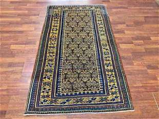 Vintage Kurd Caucasian rug-2341