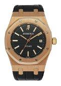 Audemars Piguet 15300OR 18K Rose Gold Men's Watch Box &