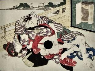 Utagawa School: shunga