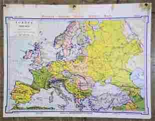 H27 Europe 1918-1937 Denoyer - Geppert Social Science