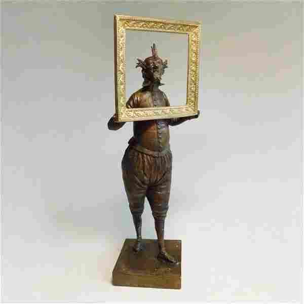 "Sculpture ""Self-portrait"""
