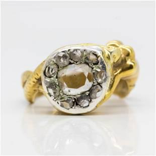 Antique Georgian 18k Diamond Ring