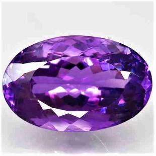Natural Rich Purple Amethyst 24,96 ct