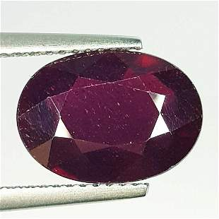 Natural Ruby Oval Cut 5.75 ct