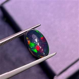 Natural Oval Cut 2.46Carats Opal Loose Gemstone