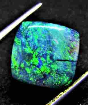 Australian Black Opal Certified - 4.02 ct