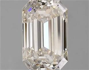 2.02 Ct White Emerald Diamond Loose Gemstone 1 Piece