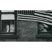 ROBERT FRANK - Parade, Hoboken, NJ, 1955