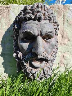 Wall Decoration - Mythical wall bust - Classic Men's