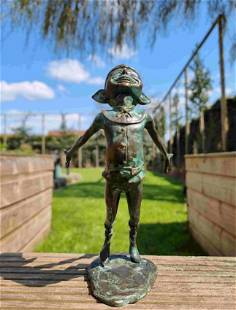 Bronze Pixie - Bronze gnome - Bronze fairy - Gift