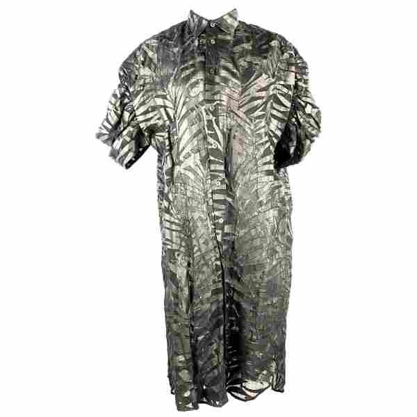 JUNYA WATANAME Comme des Garcons Black Linen Shirt