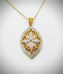 Necklace & Pendant w Diamonds