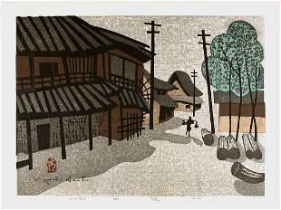 SAITO, Kiyoshi (1907-1997): Nara (B)- limited edition