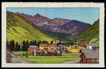 Yoshida, Toshi (1911-95): Vail, Colorado