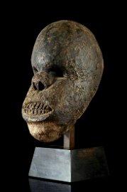 A rare Bamileke Gorilla head