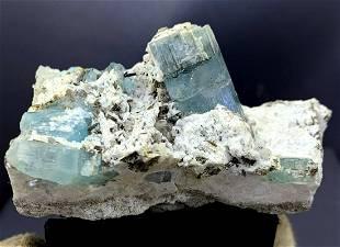 Natural Aquamarine Specimen From Pakistan - 150 Gram -