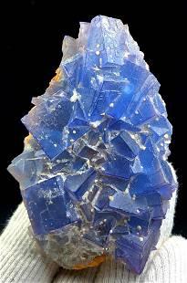 Fluorite , Cubic Phantoms Natural Fluorite Specimen -