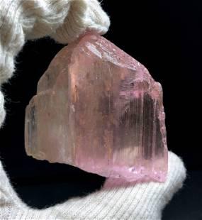 Natural pink Kunzite Crystal , Natural Pink Kunzite