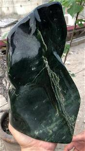 4800 Grams Beautiful Emerald Green Nephrite Tumble