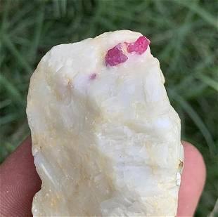 61 Gram Amazing Natural Ruby Specimen