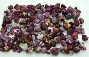 105 Grams Beautiful Rough Ruby Lot