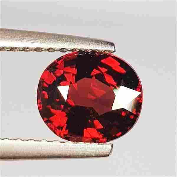 Natural Rhodolite Garnet Oval Cut 1.80 ct